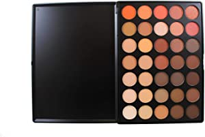 MORPHE Brushes 350-35 Color Nature Glow Eyeshadow Palette (Full Size)