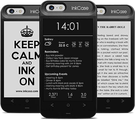 OAXIS - Funda para eReader, iPhone 6 / 6S, Bluetooth. Funda Protectora Trasera con Segunda Pantalla: Amazon.es: Electrónica