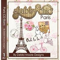 Debbi Moore Designs Shabby Chic Paris CD Rom (295071)