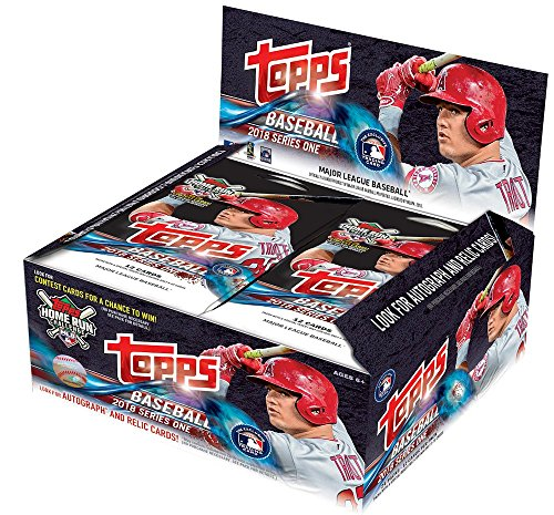 2018 Topps Baseball Series 1 Factory Sealed 24 Pack Box