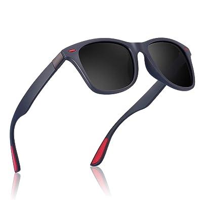 Amazon.com: Gafas de sol para Hombre Vintage Polarizadas ...