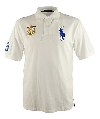 Amazon.com: Polo Ralph Lauren Big \u0026 Tall Classic-Fit Big Pony Polo (Tall X,  White): Clothing