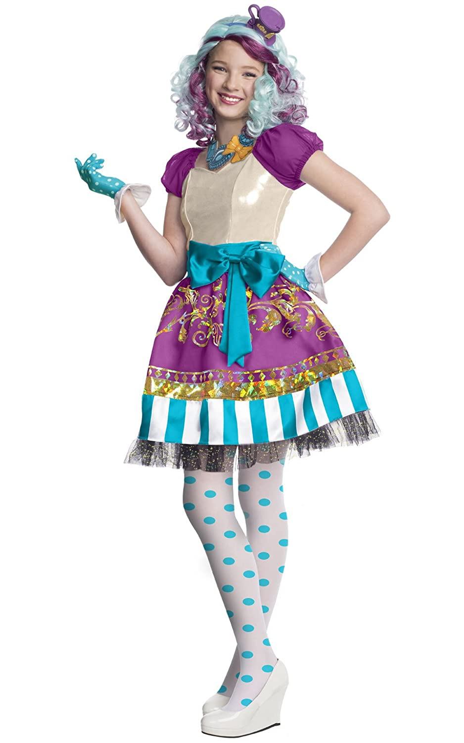 Ever After High Child Madeline Hatter Costume