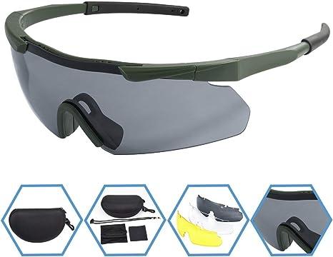 XAegis Tactical Eyewear 3 Interchangeable Lenses, Outdoor