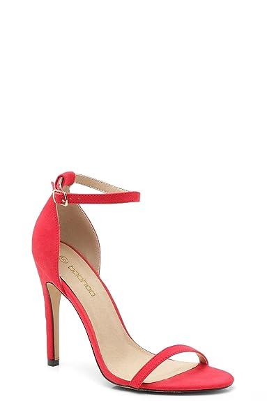 a34e97e90564 Femmes Talons en 2 Parties Emila - Corail - 7  Amazon.fr  Chaussures ...
