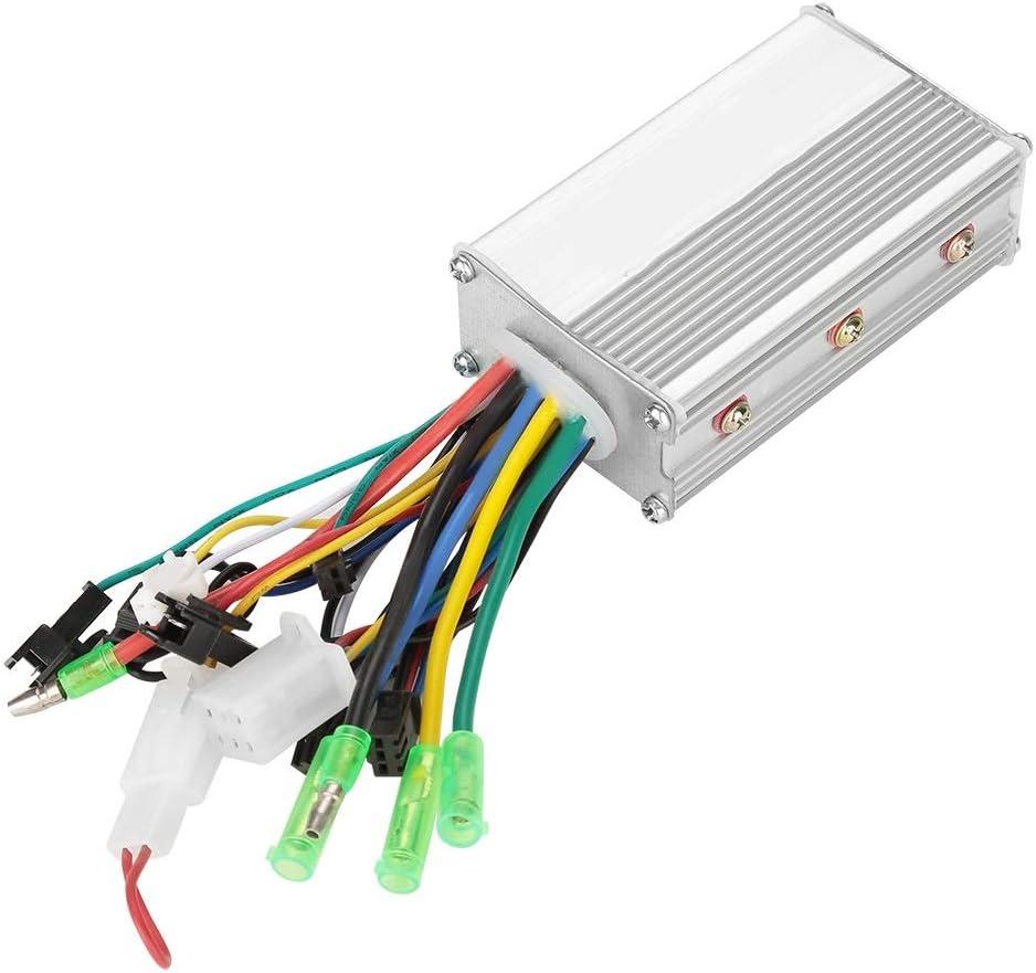 Starbun Controlador de Motor eléctrico - 36V / 48V 350W Controlador de Motor sin escobillas for Bicicleta eléctrica Vespa