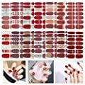 TYLCC 14 Sheets Nail Polish Strips Nail Art Full Cover Sticker Nail Art Wrap for Women Girls Festive Gifts, Birthday Gifts,Art Theme Party