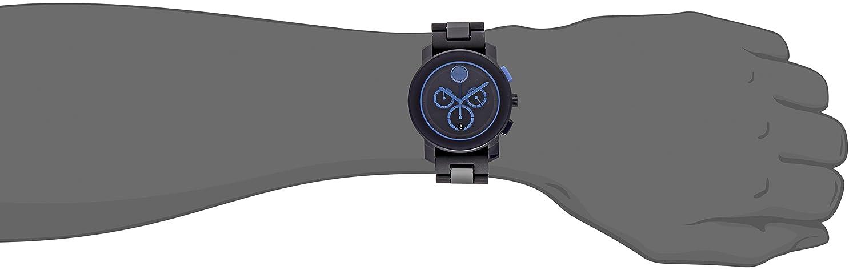 Movado Men s 3600270 Analog Display Swiss Quartz Blue Watch