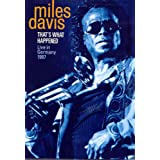 Thats What Happened: Live in Germany 1987 [DVD] [Import]