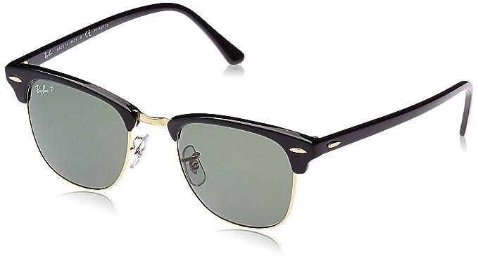 RAY-BAN 0rb3016 901/58 51 Gafas de Sol, Black, 50 para Hombre