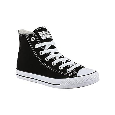 Elara Unisex Kult Sneaker   Bequeme Sportschuhe für Damen Herren und Herren Damen 3fd3eb