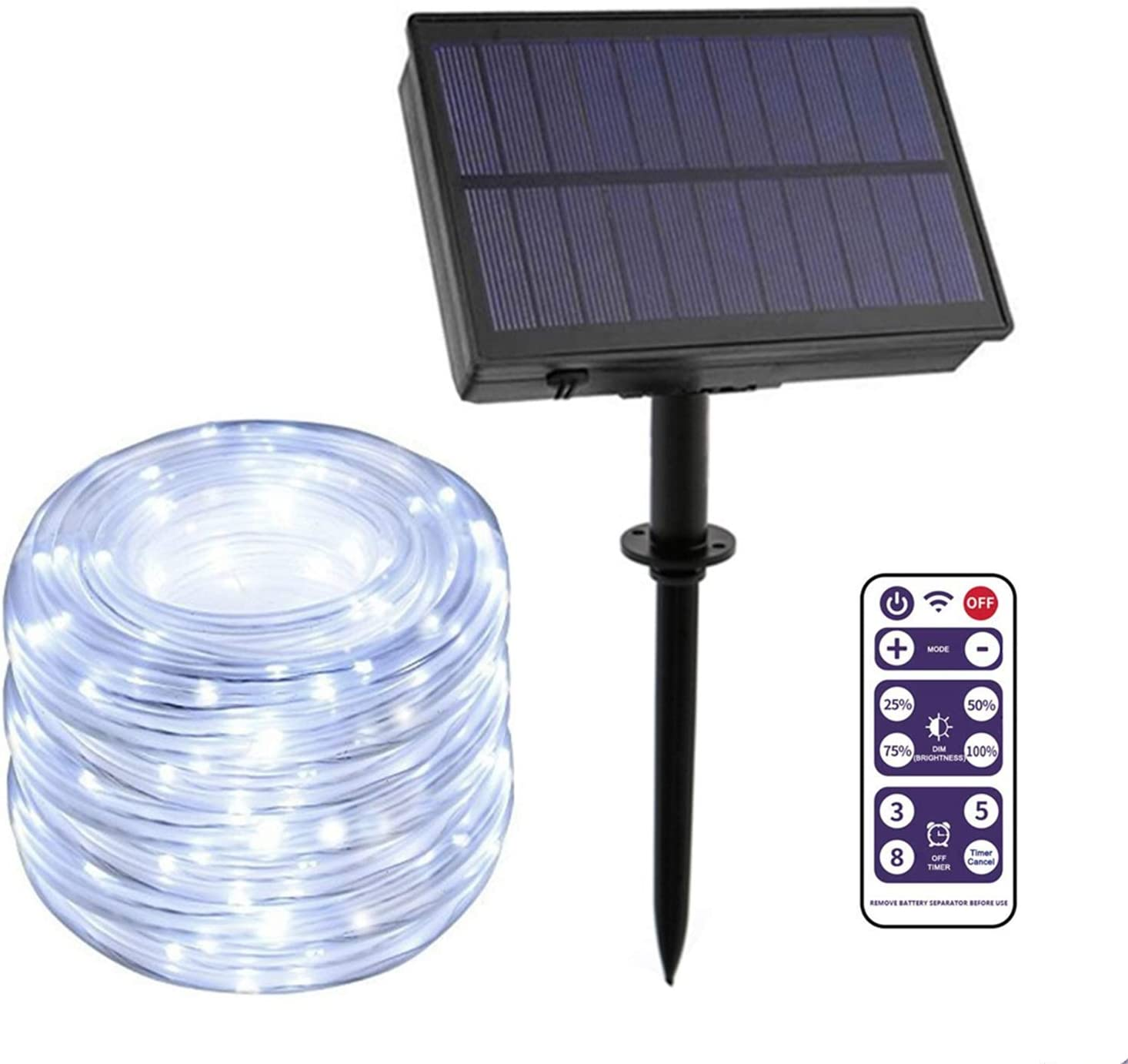 Free Amazon Promo Code 2020 for Outdoor String Lights Solar Powered with Remote