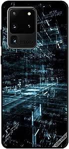 غطاء حافظة لهاتف سامسونج S20 بنمط علمي