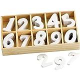 Assortiment de chiffres en bois VBS