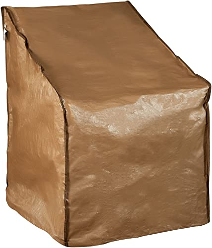 Abba Patio Water Resistant Lounge Chair Cover, 31 L x 27.5 W x 40 H, Brown