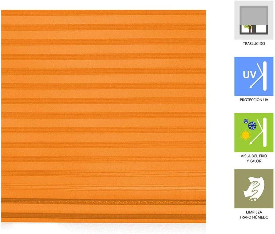 Beige Estoralis Madras Estor Enrollable 110 x 175 cm