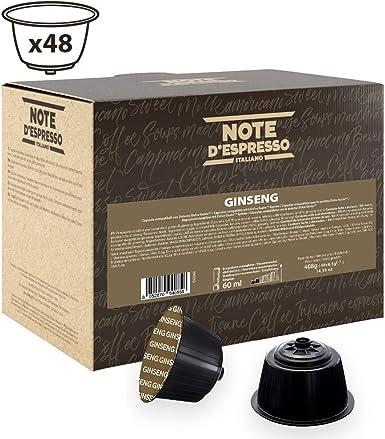 Note DEspresso Cápsulas de Bebida Instantánea de Ginsen ...