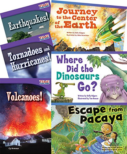 Teacher Created Materials - Classroom Library Collections: Natural Disasters - 6 Book Set - Grade 2 - Guided Reading Level J