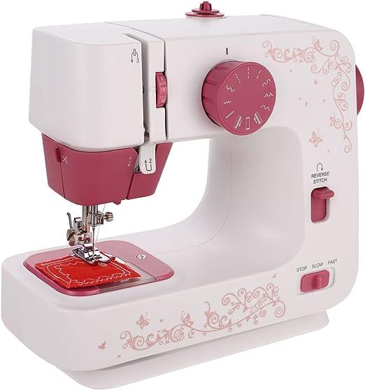 COOCHER - Máquina de coser con 12 programas, incluye programa de ...