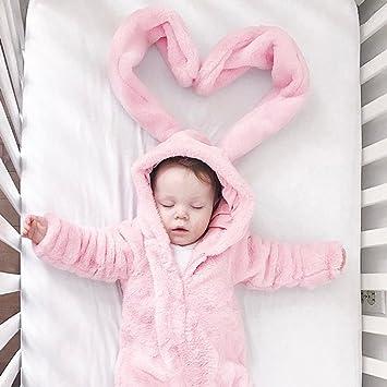 Traje para bebé recién nacido, manga larga, orejas grandes ...