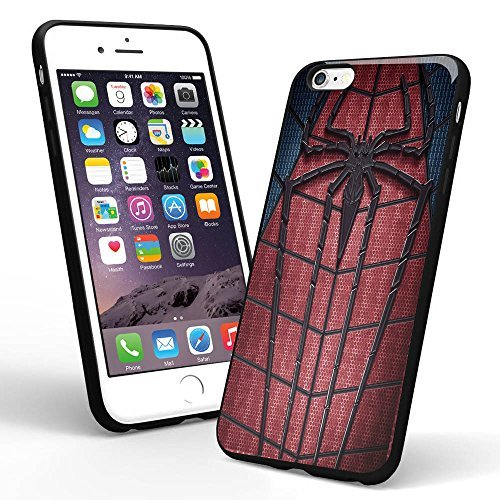Amazing Spiderman Logo Custom for Iphone Case and Samsung Case (iPhone 6 black)