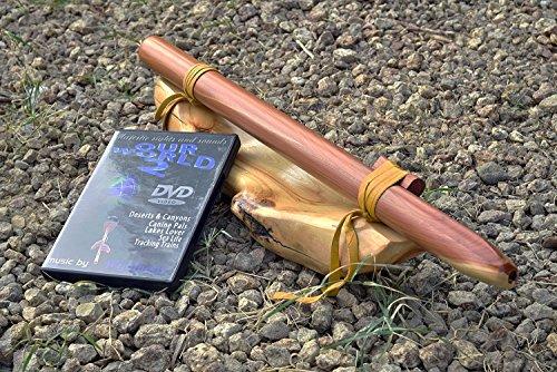 Windpony key of F# 6-hole Cedar Native American Style Flute with DVD