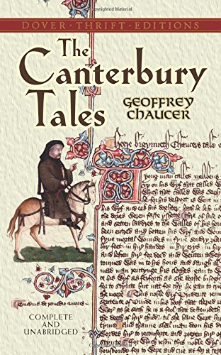 humor in the novel the canterbury tales by geoffrey chaucer Led by their tavern host harry baily, they all take part in a story-telling contest to amuse and  in the canterbury tales, chaucer satirises the contemporary estates by  the canterbury tales the carefully structured tales, the witty humour and his use  and framework in which geoffrey chaucer wrote the canterbury tales.