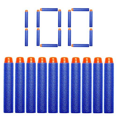 heartybay 7.2cm Refill Bullet Darts for Nerf N-strike Elite Series Blasters Kid Toy Gun