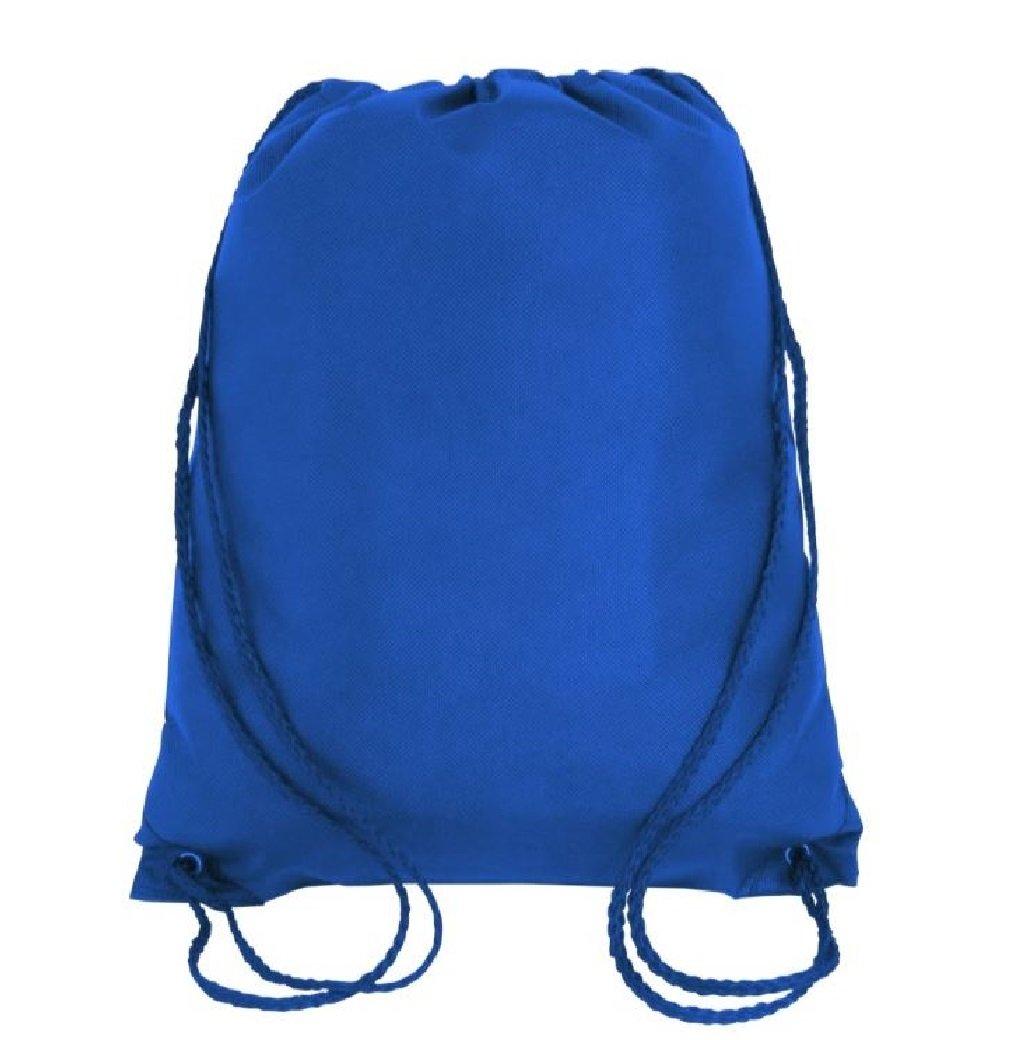 不織布ポリプロピレン巾着バッグ、ギフトバッグ、袋パック、スポーツバックパック、Well Madeドローストリングバックパックバッグ、Cinchバッグスポーツパック ブルー B07D24MGGV ロイヤル|50 ロイヤル