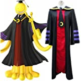 Mtxc Men's Assassination Classroom Cosplay Costume Korosensei Coat