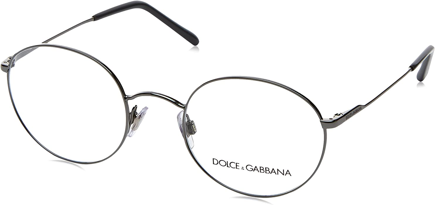 5e49197764f8 Amazon.com  Eyeglasses Dolce  amp  Gabbana DG 1290 04 GUNMETAL  Clothing