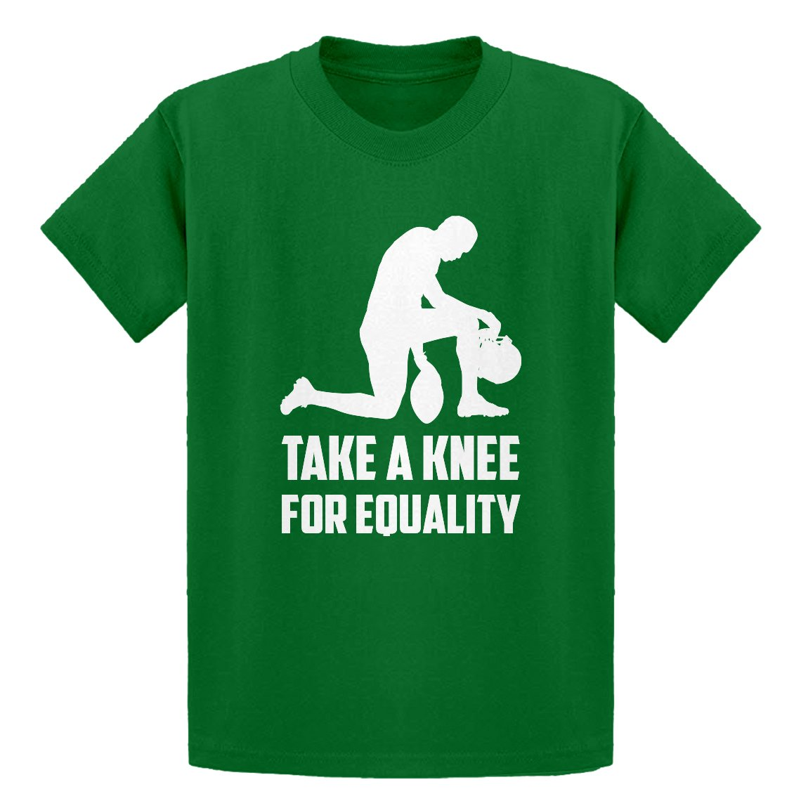Indica Plateau Players Take the Knee for Equality Youth T-Shirt 3470-Y