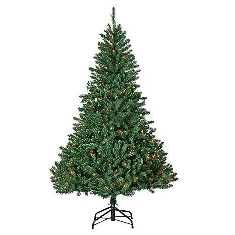 Marywood Pine 6' Pre-Lit Christmas Tree - Multi-Color - Amazon.com: Marywood Pine 6' Pre-Lit Christmas Tree - Multi-Color