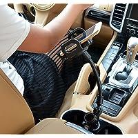 Car Mount Mobile Phone Charger Holder, 5 V 2.1A+1.5A dual USB car charger mount holder for mobile phone