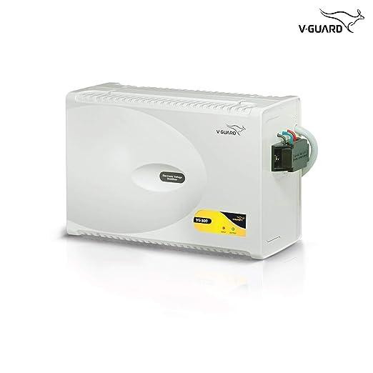 V Guard VG500 Stabilizer for 2 Ton AC  Working Range: 170V 270V  Voltage Stabilizers