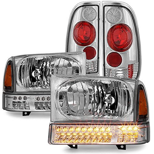 01 f250 head lights - 6