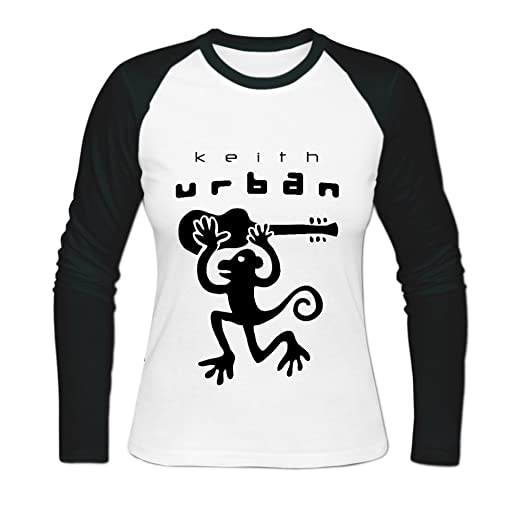 Amazon.com  Joanna McLemore Keith Urban Baseball T Shirts for Womens XL  White (6193744971270)  Books a631b79f5f