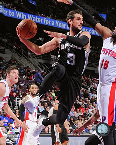 "Marco Belinelli San Antonio Spurs 2015 NBA Action Photo (Size: 8"" x 10"")"