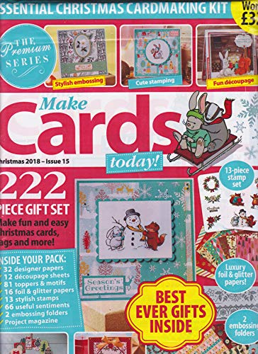 Make Cards Today! Magazine Christmas 2018 Issue 15