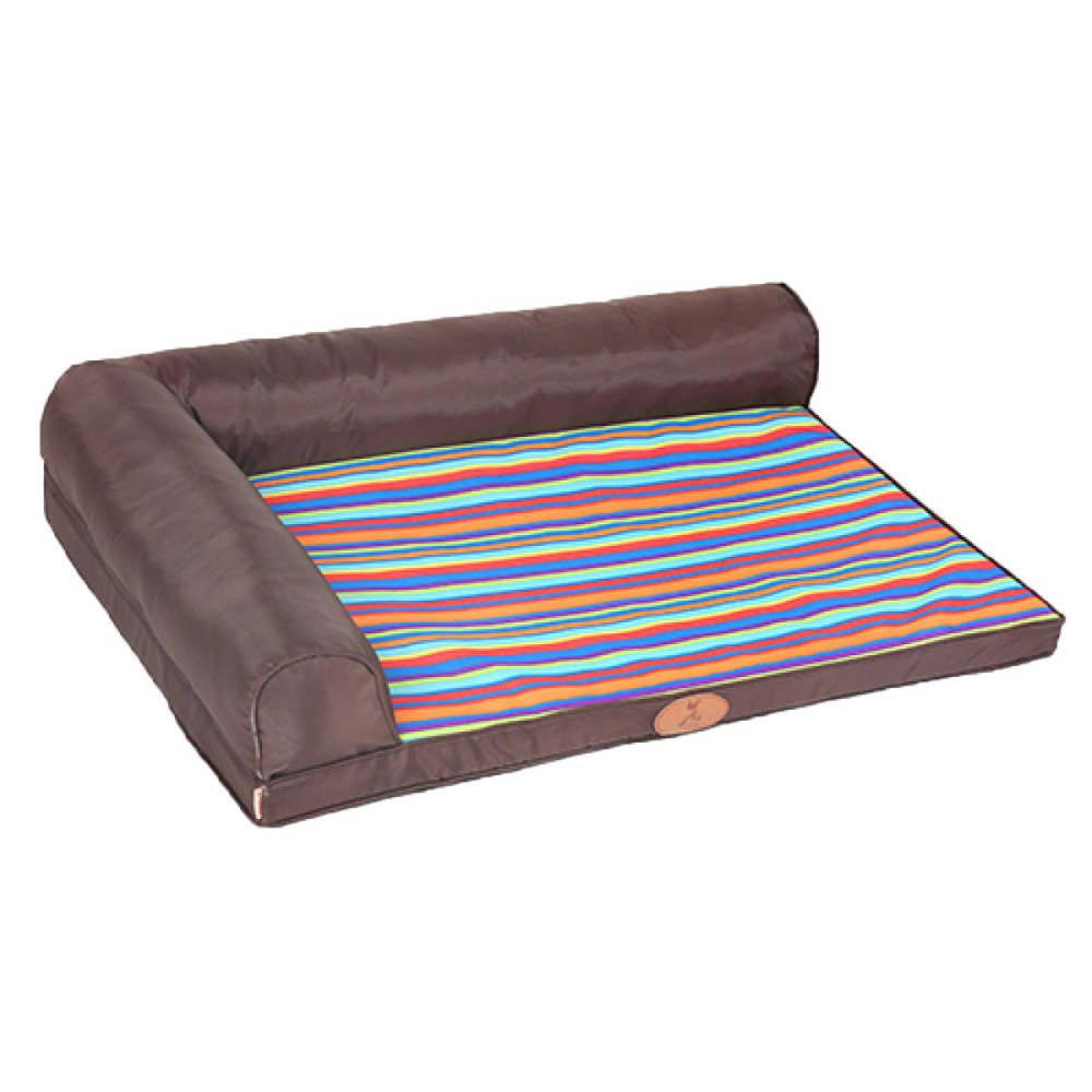 E Small E Small LDFN Kennel Pillow Bed Washable Four Seasons General Small Medium And Large Dog Mattress Sofa Cushions,E-S-70  50cmFor15kg