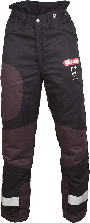 Oregon 295453/XL Yukon+ Type A Clase 1 (20 m/s) -Pantalones Protectores para Motosierra, negro, extra-large