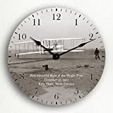 Wright Brothers First Flight 12″ Wall Clock For Sale