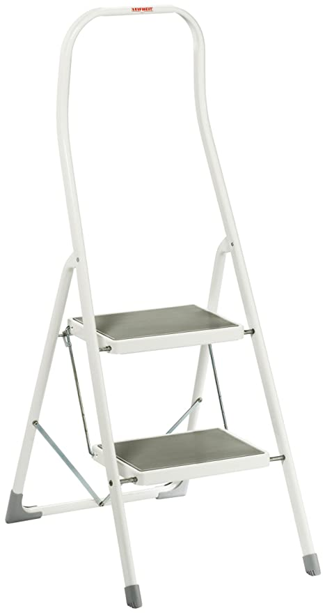Excellent Leifheit Perfect 73406 Step Ladder Portable 2 Amazon Co Uk Cjindustries Chair Design For Home Cjindustriesco