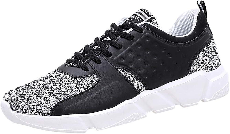 Elecenty Zapatos de Cordones para Hombre Ligero Transpirable Zapatillas Casual cómodos Running Calzado Deportivo Sneakers Walking Shoes: Amazon.es: Zapatos y complementos