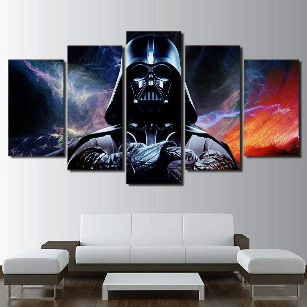SanwoodenJ Film de Science-Fiction Classique Star Wars r/étro Plaque en m/étal Affiche Bar caf/é Chambre d/écoration Murale Signe en /étain Peinture en /étain 20x30 cm Jaune