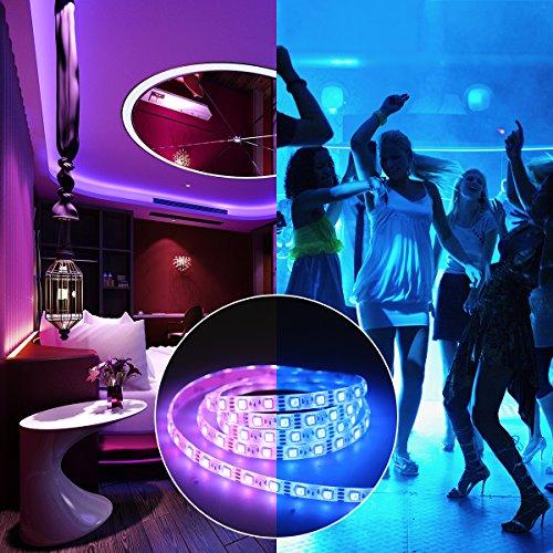 LED Light Strip Sync Music Light Strip 3.94FT 5V USB LED