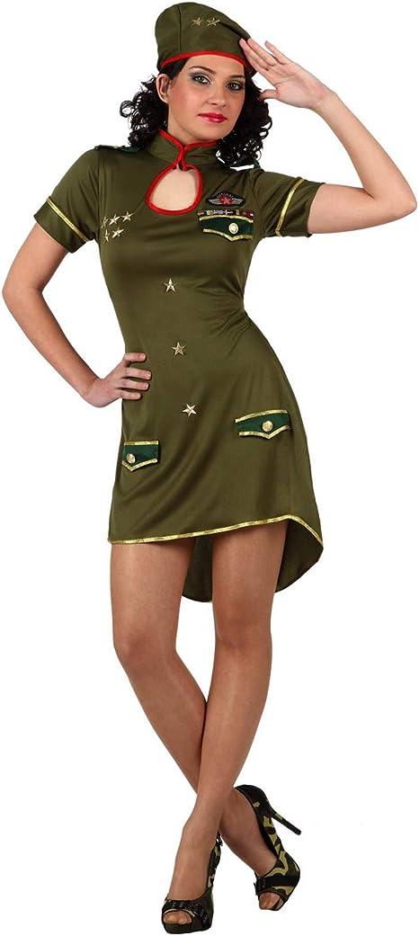 Disfraz de militar para mujer: Amazon.es: Juguetes y juegos