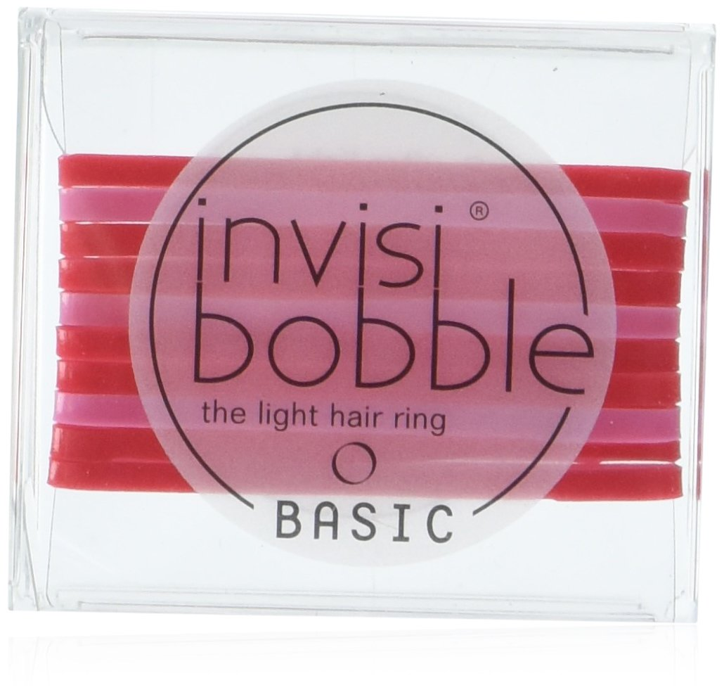 invisibobble BASIC Crystal Clear, the light hair ring, ultraleichtes Haargummi für jeden Tag, 2er Pack(2 x 10 Stück) 2er Pack(2 x 10 Stück) IB-BA-PC10002