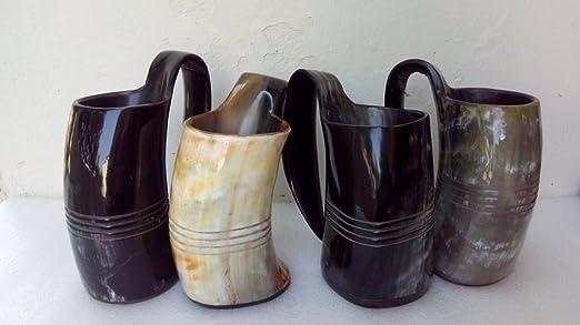 Game Of Thrones Handmade Viking-Drinking Horn Mug-Cup-Beer Wine Mead Ale