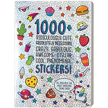 Amazon.com  Lisa Frank Over 600 Stickers (Original Version)  Toys ... 018fb607d3ef8